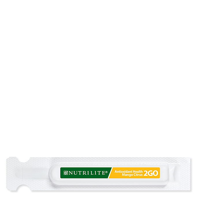 Nutrilite Twist Tubes 2go Antioxidant Health Mango Citrus Vitamins Supplements Amway