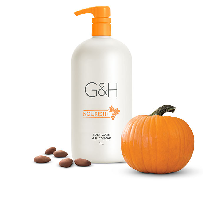 G&H Nourish+™ Body Wash - 1 L (33.8 fl. oz.)