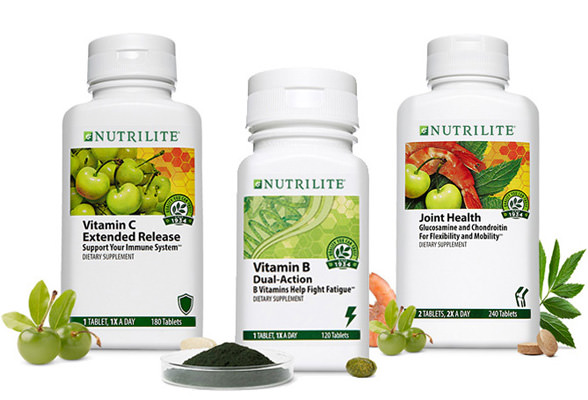 Image of Nutrilite Vitamin C Extended Release, Vitamin B and Joint Health.