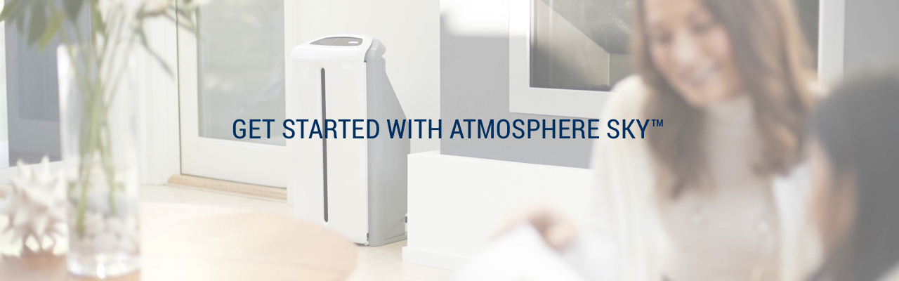 Atmosphere™ Sky air treatment system in a home.